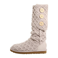 UGG Lattice Cardy Metallic Cornsilk - Zappos.com Free Shipping BOTH Ways