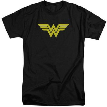 DCCKM83 Wonder Woman Logo Short Sleeve Adult Tall