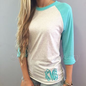 Monogram Baseball Tee – I Love Jewelry
