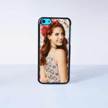 Lana del rey Plastic Case Cover for Apple iPhone 5C 6 Plus 6 5S 5 4 4s