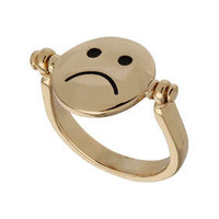 Spinning Face Ring