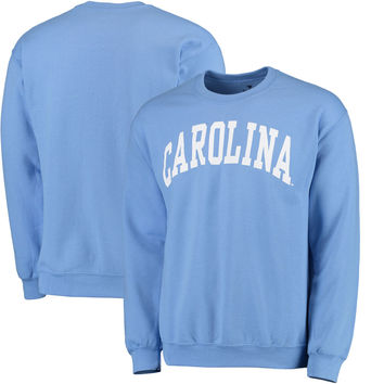 Men's Fanatics Branded Carolina Blue North Carolina Tar Heels Basic Arch Sweatshirt