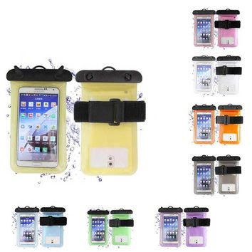 High Quality Universal PVC Waterproof Case For 3.5 - 6 Inch Mobile Phone Bag Camera with Strap Dry Pouch Cover Swimming Case