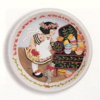 Mary Engelbreit  Cherry Girl Wall Plaque-ME-1013