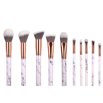 Makeup Tools Marble Makeup Brushes