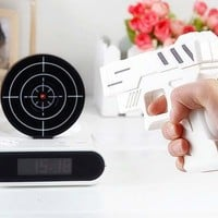 Amazon.com: Gun And Target Recordable Alarm Clock by TG