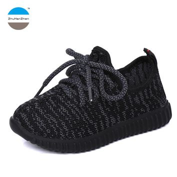 2017 Autumn fashion kids sneaker 1 to 12 years old baby boy and girl sports shoes children casual shoes good running shoes