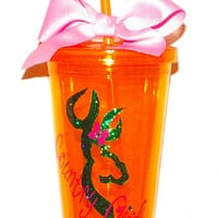Country Girl Glitter Tumbler is March's Giveaway to be eligible you must follow my Etsy stop winner will be choosen Mar 31 from my followers