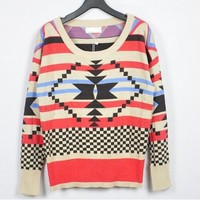 Tribal Pullover Sweater from Seek Vintage