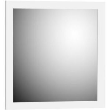 Simplicity by Strasser, 30 in. Framed Mirror with Square Edge in Satin White, 01.220 at The Home Depot - Mobile