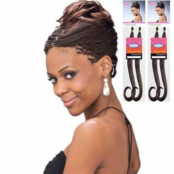 [ROYAL SILK] DOUBLE PONYTAIL BRAID - 2 PACK DEAL