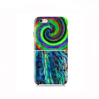 Tie Dye and Abalone Shell Galaxy S6 Case, iPhone 6 case, iPhone 6 Plus case,iPhone 5 case 5s case, 5c case, LG G3 case, Nexus 5