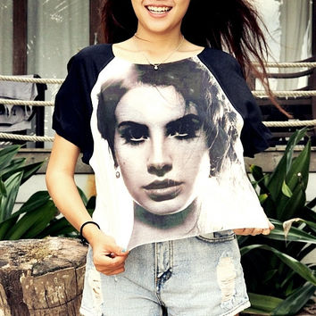 Lana Del Rey Women & Girl Shirt T-Shirt Chic Style Summer Fashion