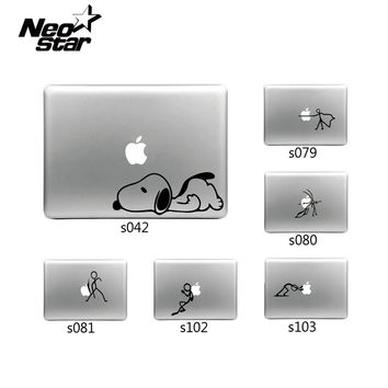 Humorous Stick Figure Sticker for Apple MacBook Skin Air 11 13 Pro 13 15 17 Retina Wall Vinyl Decal Laptop Skin Many New Pattern