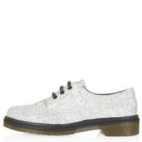 KIND Glitter Lace Up Shoes - Silver