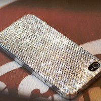 iPhone 5/5s and 5c Crystal Case Made With Swarovski Elements Crystals and Aluminum edges - Back of Case only