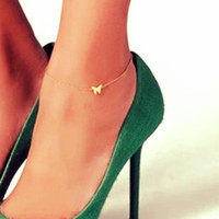 Chic Butterfly Chain Anklet