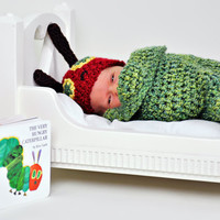 PDF Very Hungry Caterpillar Set Crochet by TinyTiptoesBoutique