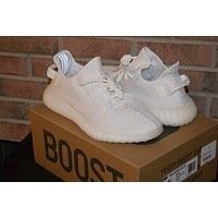 NWT Yeezy 350 V2 Mens shoes Cream White 2017 Boost Low SPLY Kanye West Size 11