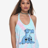 Disney Lilo & Stitch Upside Down Girls Strappy Tank Top
