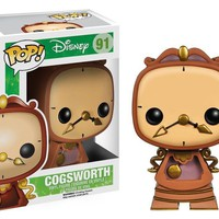 Funko Pop Disney Cogsworth 91 3897