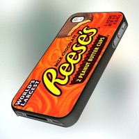 PB0314 Reese's Peanut Butter Design For IPhone 4 or 4S Case / Cover
