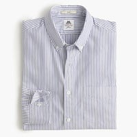 Slim Thomas Mason For J.Crew Washed Shirt In Pond Stripe