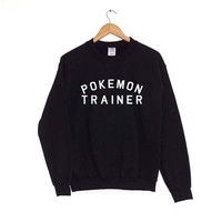 Pokemon Screenprinted Sweater