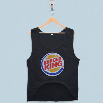 Women's Crop Tank - Burger King Logo