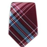 THE DIRECTOR'S PLAID - CRANBERRY