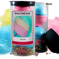 Cotton Candy Jewelry Bath Bomb