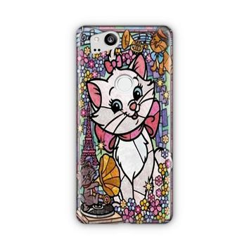 Marie Cat Disney S The Aristocats Stained Glass Google Pixel 3 XL Case | Casefantasy