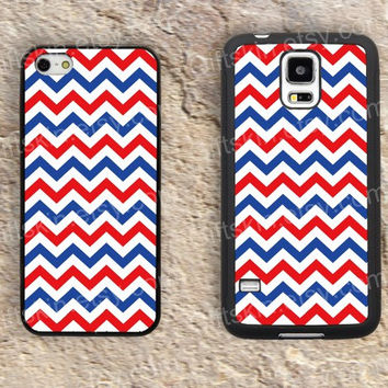 Chevron Blue and pink Chevron  iphone 4 4s iphone  5 5s iphone 5c case samsung galaxy s3 s4 case s5 galaxy note2 note3 case cover skin 144
