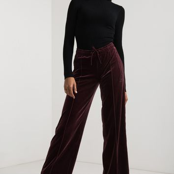 ADIDAS WOMENS VELVET VIBES SAILOR PANT - What's New