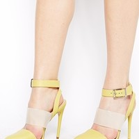 ASOS PRESENCE Leather Pointed Heels