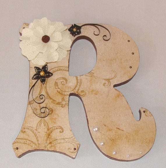 Decorative Wood Letters Wedding Table From Centertwine