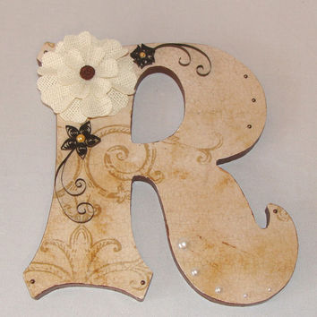Decorative Wood Letters, Wedding Table Letter, Quinceanera Letters, wedding table number, Guest book table Letters, Home Decor Wood Initials