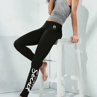 Victoria's Secret Women Fashion Casual Letter Tight Stretch Pants Trousers Sweatpants