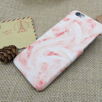 Womens Pink Marble Best Protection iPhone 7 7 Plus & iPhone 6 6s Plus & iPhone 5s se Case Personal Tailor Cover + Gift Box