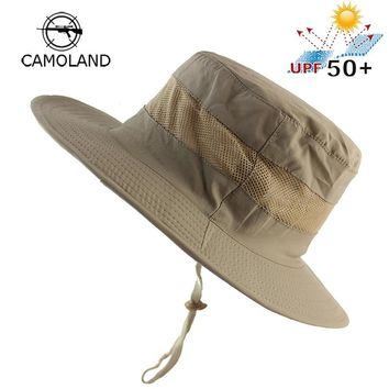 Lightweight UPF50+ Summer Sun Hat for Mens Womens Bucket Hat Breathable Mesh Boonie Hat Outdoor Foldable Quickdry UV Protection