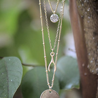 HOPE Necklace-Gold