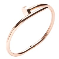 Classy Rose Gold Clasp Bangle - Happiness Boutique
