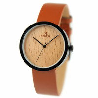 Fashion Ladies Quartz Watch Wood Dial With Japan Movement Girl Fashion Casual Pointer Simple wooden Wristwatch Women Dress Watch