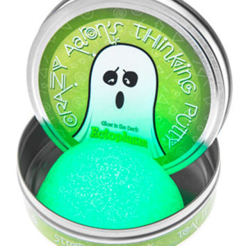 Ectoplasm Putty: Glow-in-the-dark putty that looks like paranormal slime.