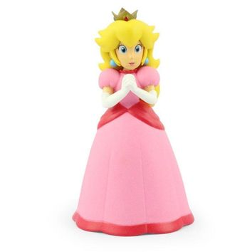 "Super Mario party nes switch 1Pcs  Pink Princess Peach Figures Toys Model Dolls 5"" 12cm   AT_80_8"
