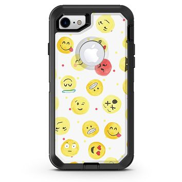 The All Over Emoji Pattern - iPhone 7 or 8 OtterBox Case & Skin Kits