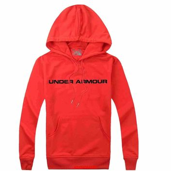 Under Armour Women Men Casual Long Sleeve Top Sweater Hoodie Pullover Sweatshirt-7