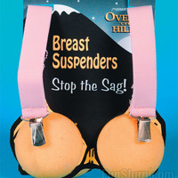 Over the Hill Breast Suspenders