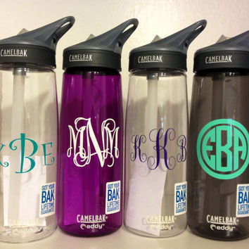 LOWEST PRICE Monogrammed Personalized Camelbak Water Bottle. Perfect Gift