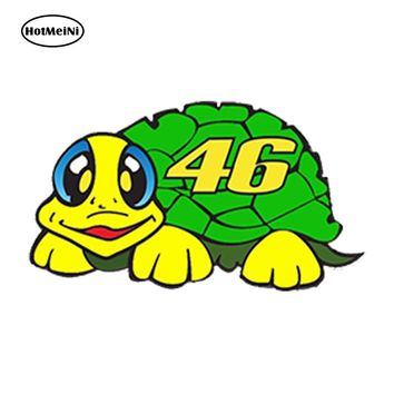 HotMeiNi Waterproof Car Styling VINYL STICKERS 46 VALENTINO ROSSI MOTO MOTORCYCLE RACING HELMET 13cm x 7cm